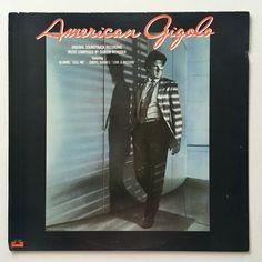 American Gigolo (Original Soundtrack Recording) LP Vinyl Record Album, Polydor - PD-1-6259 , 1980, Original Pressing