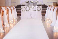dekoracja kościoła / biel i zieleń Wedding Ceremony, Wedding Day, Wedding Gifts, Weeding, Wedding Dresses, Dyi, Diana, Fashion, Engagement