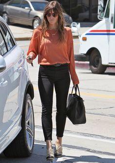 Jessica Biel Street Style