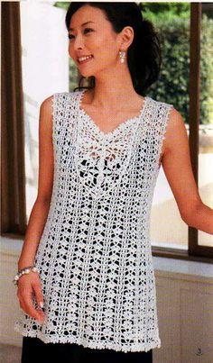 Crochét Lace tunic (chart)                              …