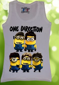 Despicable Me 2 Minion Shirt | Community Post: The 36 One Direction Products On Etsy You Need To Buy Now  http://CelebNewsPlus.com