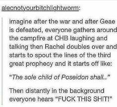 Poor Percy would lose it!!