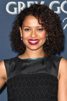 'Belle' Actress Gugu Mbatha-Raw's Curls