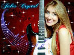 Julia Crystal - Singer Rio de Janeiro -  Brazil