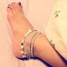 Anklets for the summer Anklet Jewelry, Body Jewelry, Jewelry Bracelets, Jewellery, Feet Jewelry, Beaded Anklets, Bare Foot Sandals, Ankle Bracelets, Toe Rings