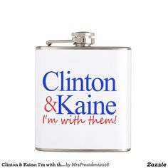 Clinton & Kaine: I'm with them! Flask