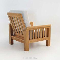 Teak Warehouse | Raffles Teak Outdoor Club Chair