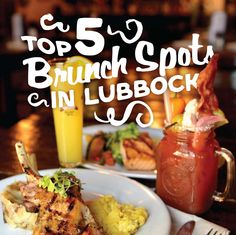 Can't decide between breakfast or lunch? We've got you covered with the top 5 brunch spots in Lubbock!