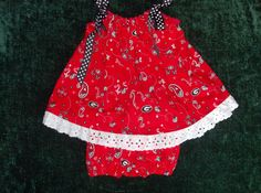 Georgia+Bulldog+Dress+with+Bloomers+by+KCDcreations+on+Etsy,+$25.00