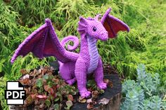Adult Dragon Crochet Amigurumi Pattern Digital Pdf By Crafty Intentions - Page 3 of 31 - Free Crochet Patterns Crochet Patterns Amigurumi, Crochet Toys, Knit Crochet, Free Crochet, Crochet Dragon Pattern, Crochet Game, Amigurumi Doll, Crochet Animals, Single Crochet