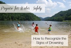 Learn to recognize the signs of drowning and have a safe summer in the water! Parents should not rely on flotation devices to prevent their children from drowning. Photo by Albert Herring