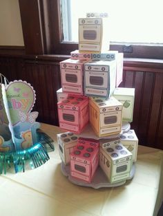 Bun in the oven baby shower favors