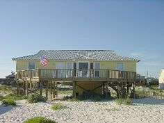 The Perfect Gulf Front Beach House  ~  Paradise Awaits!   Vacation Rental in Gulf Shores from @homeaway! #vacation #rental #travel #homeaway