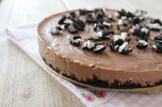 Filmpje: chocolade-oreo taart