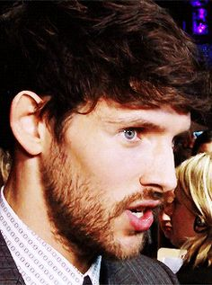 Colin Morgan at the Testament of Youth World Premiere October 14, 2014. [Gif 1 of 2]