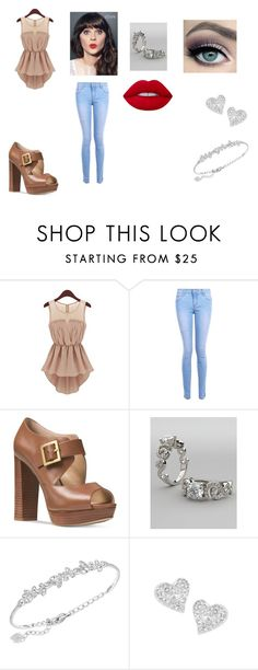 """""""Devoted Outfit 1"""" by taylor-ross115 on Polyvore featuring tarte, Boohoo, Michael Kors, Zooey, Swarovski, Vivienne Westwood and Lime Crime"""