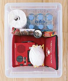 Grab-and-Go Emergency Kit
