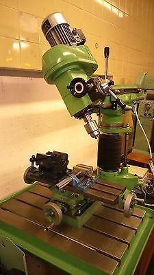 Walker Turner Milling machine/Drilling machine in Business, Office & Industrial, Metalworking/Milling/Welding, Milling | eBay