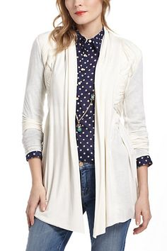 Shop new women's clothing at Anthropologie to discover your next favorite closet staple. Check back frequently for the latest clothing arrivals! Anthropologie Clothing, Bailey 44, Frocks, Duster Coat, Summer Outfits, Sweaters, Cardigans, Blazer, Clothes For Women