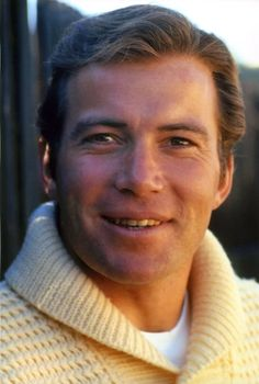 * William Shatner, I just loved Captain Kirk