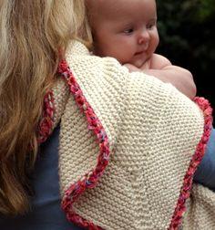Organic Cotton Baby Blanket #59