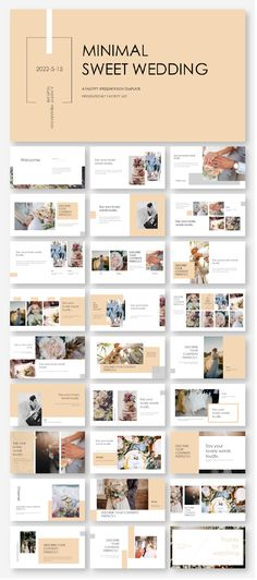 DIY Wedding Animation Template – Original and high quality PowerPoint Template… - Design Web Design, Design Page, Slide Design, Layout Design, Design Ideas, Template Web, Creative Powerpoint, Powerpoint Presentation Templates, Layout Template