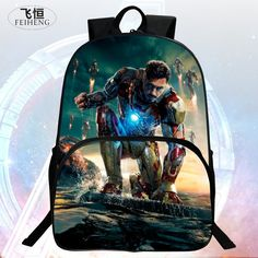 $21.11 (Buy here: https://alitems.com/g/1e8d114494ebda23ff8b16525dc3e8/?i=5&ulp=https%3A%2F%2Fwww.aliexpress.com%2Fitem%2FPopular-New-Style-16-Inch-Prints-Iron-Man-Child-School-Backpack-Kids-Backpacks-Avengers-Boys-School%2F32681907510.html ) Popular New Style 16 Inch Prints Iron Man Child School Backpack Kids Backpacks Avengers Boys School Bags Students Mochila Bag for just $21.11