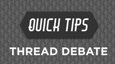 Learn the basics of what thread to use on your machine in the Thread Debate Quick Tip with Rob Appell of Man Sewing!