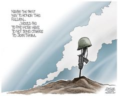 The best way to honor the fallen...
