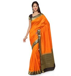 This saree has self-woven plain body and Contrast zari pattu border. It has got woven plain contrast pallu. It is perfect for party and traditional wear. The matching blouse piece which accompanies really compliments your diva . Jacquard Loom, Modern Traditional, Silk Sarees, Compliments, Diva, Contrast, Feels, Sari, Suits