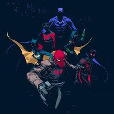 Batfamily by Dan Mora
