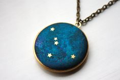 Hey, I found this really awesome Etsy listing at https://www.etsy.com/listing/210245036/cancer-constellation-illustrated-brass