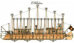 (PG) L'Albatross de Jules Verne, version J.P Bouvet...