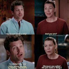 Greys Anatomy Spoilers, Greys Anatomy Funny, Greys Anatomy Episodes, Greys Anatomy Characters, Grays Anatomy Tv, Greys Anatomy Scrubs, Grey Anatomy Quotes, Meredith Grey Quotes, Meredith And Derek