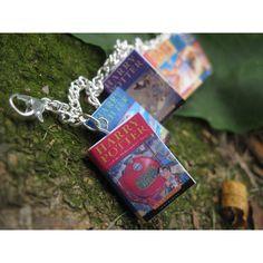 Harry Potter Book Bracelet (UK Editions) ($19) ❤ liked on Polyvore
