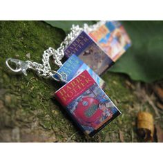 Harry Potter Book Bracelet (UK Editions) ($19) ❤ liked on Polyvore