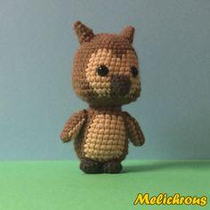 Olive the Owl Pattern Crochet Amigurumi PDF by Melichrous on Etsy