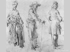 Artist:Watteau Antoine  Museum:National Gallrey of Ireland (Dublin)  Epoch:Rococo  Country:France