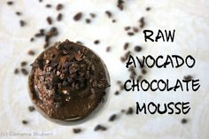 Raw Avocado Cacao Mousse With Almond Milk, Avocados, Cacao Nibs, Agave Nectar Vegan Chocolate Mousse, Raw Chocolate, Chocolate Recipes, Chocolate Avacado, Healthy Chocolate, Superfood Recipes, Raw Food Recipes, Dessert Recipes, Simple Recipes