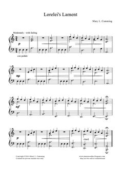 Piano Noodles - teaching pieces to download by Mary Cumming