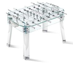 """Teckell"" foosball table designed by B.Lab Italia."