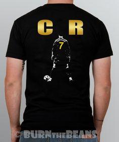 RONALDO T SHIRT Cristiano CR7 Real Madrid Portugal S - 5XL #SOLS #BasicTee