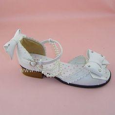 White shiny, 4.5cm heels 1cm platform