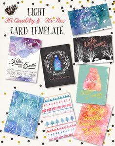 20%Off -Winter collection +20 Bonus by Graphic Box on Creative Market