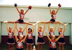 high school cheer stunts - Google Search