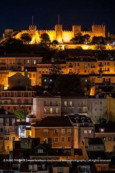 Castle de São Jorge, Lisbon, Portugal