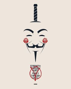 Wedding Quotes : V for Vendetta by Matt Ferguson / Tumblr / Website / Twitter