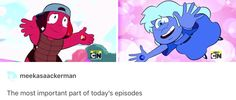 """I was like, """"No! Garnet stop wait for the Rubies to leave!"""" and then they fused. REALLY YOU TWO COME ON NOW"""