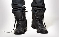 How to tuck your jeans into your boots without looking like a jerk