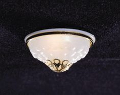 Large Ceiling Dome Light w/ Ornamental Shade - This miniature very fancy dollhouse domelight has an ornamental cap Cumberland Island, Ceiling Light Fixtures, Dollhouse Lights, Dollhouse Miniatures, Heart Ring, Shades, Fancy, Ornaments, Dollhouses